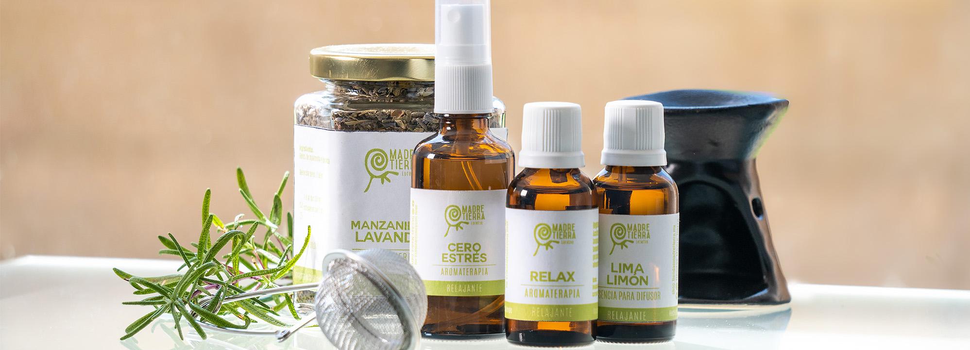 Controla el Estrés con Aromaterapia